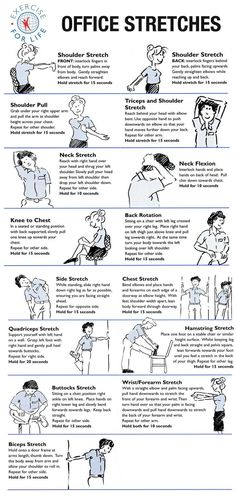 Occupational #Therapy: #Office #stretches.