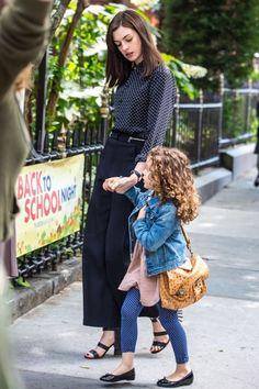 Anne Hathaway Photos: Anne Hathaway Films 'The Intern'