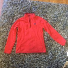 paranoia better sweater pullover great condition! outside is kind of a sweatery material and inside is soft and fleecy. very comfortable Patagonia Jackets & Coats