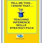 Structured approach to teaching inference in this new and clear cut product.  Utilizes a metacognition strategy to teach students how to make inferences.  Makes students aware of their own thinking and will teach them how to transfer this skill to other reading or to assessment situations.  Differentiate your instruction and Teach Every Child with this product and proven educational technique.