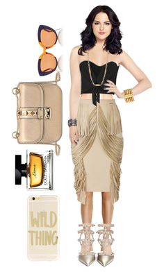 """""""Just wild and free !!!"""" by dave-nguyen on Polyvore featuring Valentino, Alice + Olivia, Marni, Sonix, Balmain, Chanel and Dolce&Gabbana"""