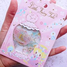 Pastel Princess Sticker Flakes | Translucent Little Fairy Tale Stickers | Fairy Kei Diary Deco Stickers | Planner Supplies | Fairytale Scrapbook (Animal Flower Perfume Bottle / 6 Designs / 36 Pieces)