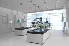 Mercedes Benz Interactive Tables
