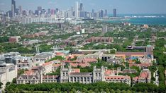 The University of Chicago, in Hyde Park on Chicago's South Side