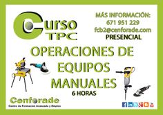 TPC Operaciones de equipos manuales