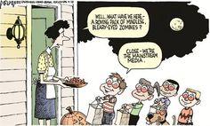 #Cartoon: Mainstream Media Zombies