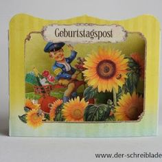Geburtstagspost ist eingetroffen ! unsere 3D-Karten jetzt auch im online-shop erhältlich  #3DKarten #Glückwunschkarten #Papeterie #Nürnberg   Der Schreibladen, Schreibwaren & Lotto-Annahmestelle – Google+