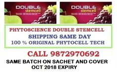 Phytoscience Double StemCell,anti ageing ( 140 Sachets )10 pack( apple & graphes | eBay