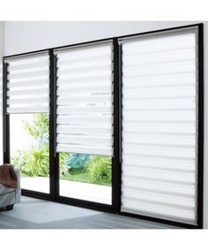 Window Coverings, Window Treatments, Roller Blinds, My House, Sweet Home, New Homes, Windows, Curtains, Interior