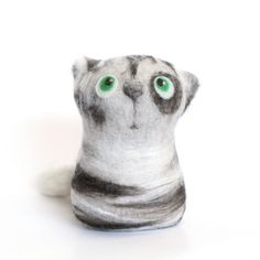 Miles, the Grey Tabby Cat by fingtoys, via Flickr