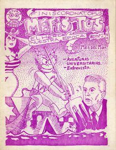 Mefistus N° 2  Segundo número del fanzine de cómics «Mefistus, El Héroe de Nuestra Epoca»publicado en Valdivia en mayo de 1990.  Más información en http://bufoland.blogspot.com/2014/07/mefistus-n-2-mayo-de-1990.html  * Agradecimientos a Enrique Suárez Silva por conservar por más de 20 años copias originales excelentemente conservadas de este fanzine y regalármelas en julio de 2014. Las cuales ahora comparto con uds. en forma digital.  Más información en y más Mefistus para descargar en: ...