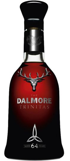 #DALMORE TRINITAS 64 year old, probably the world's most expensive scotch whisky
