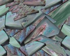 """Saatchi Art Artist Françoise Zia; New Media, """"Morceaux pavés"""" #art"""