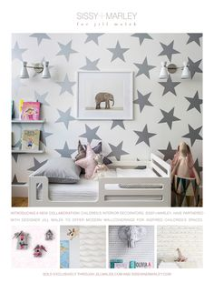 SISSY+MARLEY NYC nursery and children's interior decorating and wallpaper - BLOG HOME - SISSY+MARLEY for jillmalek