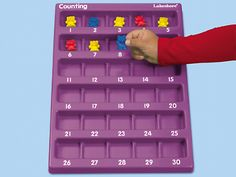 Hands-On Counting Tray at Lakeshore Learning