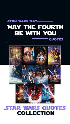 May the fourth be with you. On May 4th we celebrate the Star Wars Day. Enjoy quotes from movies, tv shows and games from the Star Wars Universe created by Lucasfilm (now under Disney). | Star Wars Day Quotes | Star Wars Quotes | May the Force be with you! Best Star Wars Quotes, Enjoy Quotes, Star Wars Books, Star Wars Day, Obi Wan, Clone Wars, Movie Quotes, Be Yourself Quotes, All About Time