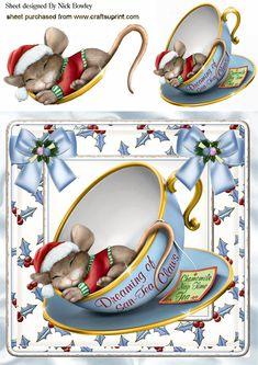 a Christmas Decoupage, Christmas Card Crafts, 3d Christmas, Christmas Clipart, Christmas Pictures, Vintage Christmas, Christmas Images Free, Printable Christmas Cards, Christmas Card Template