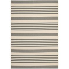 """AmazonSmile - Safavieh CY6062-233 Courtyard Collection Indoor/Outdoor Area Rug, 5'3"""" x 7'7"""""""