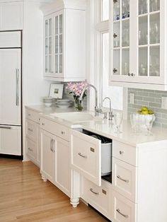White granites that look like marble alaskan white for Bethel kitchen designs