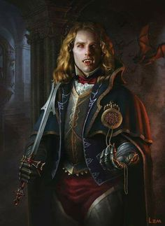 "Tom Cruise as ""Vampire Lestat"" by lizimingkl at DeviantART. Interview with a Vampire fanart Vampire Dracula, Vampire Love, Gothic Vampire, Vampire Art, Male Vampire, Vampiro Lestat, Comte Dracula, Lestat And Louis, Movie Posters"