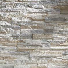 Brick Nepal Beige Gray m² buy from OBI - Modern Modern Elegant Bedroom, Elegant Bedroom Design, Fireplace Wall, Brick Wall, Wall Design, House Design, Tv Wall Decor, Stone Veneer, Scandinavian Home