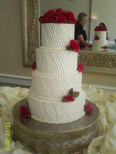 Image result for wedding cakes vertical buttercream