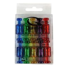 Quartet Magnetic Push Pins 20pk - MPPC