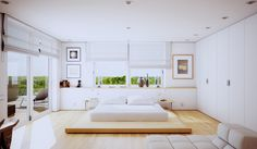 5 Stylish Bedroom Designs For Your Comfort  - Bedroom is the last room in your household that you might think about decorating or re-arrangingbecause no one else sees it except you, and even you... -  1-white-bedroom-design .