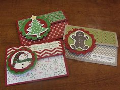 *Stampin Up, by Amy Frillici, Gathering Inkspiration **order products online at amysuzanne.stampinup.net, Holiday Gift Card Holders