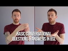 Sign Language For Kids, British Sign Language, Learn Bsl, American Songs, What Is Your Name, Educational Websites, Question And Answer, Communication, Signs