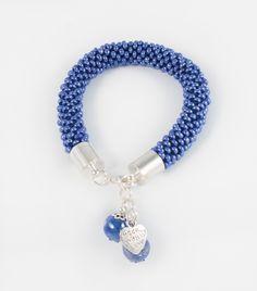 Hand made bead crochet bracelet; more on www.facebook.com/BizuteriaLowyt