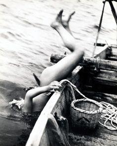 series 'Life of Ama Divers' :: Ama Pearl Divers, JAPAN :: by Iwace Yoshiyuki