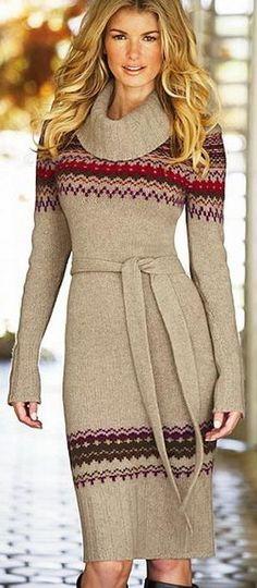 #sweater dress ?? | Keep the Glamour | BeStayBeautiful  Sweater #fashion #sweater  www.2dayslook.com