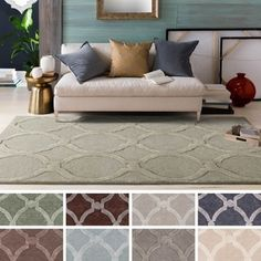 Shop for Hand-Tufted Swindon Wool Rug (9' x 13'). Get free shipping at Overstock.com - Your Online Home Decor Outlet Store! Get 5% in rewards with Club O! - 17234390