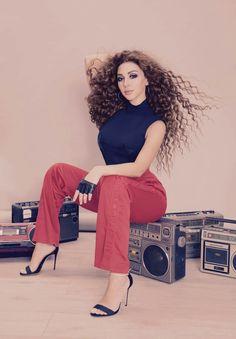 Myriam Fares Laha Magazine