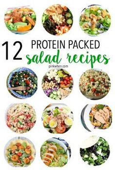 Delicious Protein Packed Clean Eating Salad Recipes
