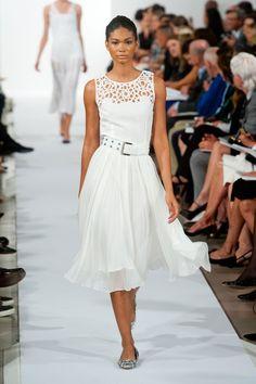 Fashion Show: Oscar de la Renta Spring 2014 | Белое & Черное