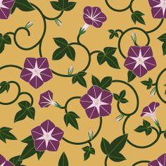 粋屋-日本の伝統文様と伝統色 その他の植物文様