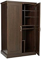 Buy Sauder Select Cinnamon Cherry Computer Armoire At Walmart.com | Making  A House A Home | Pinterest | Computer Armoire, Armoires And Living Rou2026