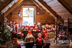 new picture of santa attic at #Byrkjedalstunet  Stavanger