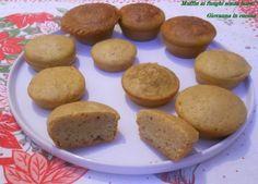 Muffin ai funghi senza burro, senza sale, giovanna in cucina