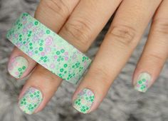 Our Mini Green Flowers FunTape @Our Holly Days