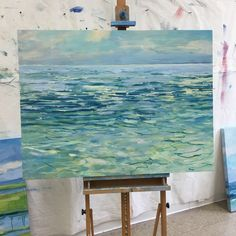 A New England oil painter with a focus on Cape Cod inspired seascapes with a contemporary feel. Color and atmosphere is an emphasis. Ocean Paintings, Original Paintings For Sale, Oil Painters, Contemporary Paintings, Cape Cod, Acrylics, New England, Beach House, Abstract Art