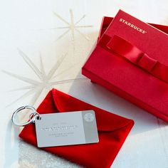Limited edition Sterling silver Starbucks gift card. Insanely cool!