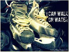 hockey players walk on water. never even thought of that! Blackhawks Hockey, Hockey Teams, Chicago Blackhawks, Hockey Players, Hockey Stuff, Hockey Baby, Hockey Girls, Ice Hockey, Boys