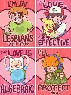 creative twist on love sarcastically geeky valentine designs - Geeky Valentines Cards