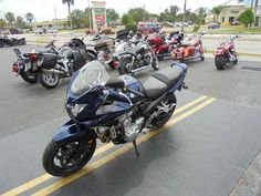 Used 2009 Suzuki Bandit 1250S Motorcycles For Sale in Florida,FL. 2009 Suzuki Bandit 1250S, !!!ABOVE AVERAGE CONDITION!!! !!!TWO BROTHERS EXHAUST!!! !!!TIRES ARE LIKE NEW!!! At its base, the 2009 Bandit, be it ABS-equipped or not is the same impressive sport-touring motorcycle kept competitive by the liquid-cooled 1255cc DOHC engine that is fuel injected, providing great power and torque. The 79.0mm bore and 64.0mm stroke result into a 10.5:1 compression ratio and, by featuring 36mm throttle…