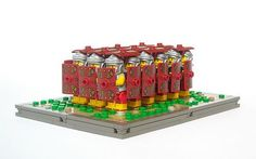 Lego Roman Soldiers Testudo Formation