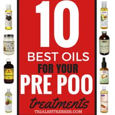 We've discussed the importance of pre-pooing before cleansing in your natural hair regimen and I've shared some of my favorite pre-poo recipes as well but this time around I'm giving you 10 essenti...