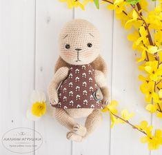 Crochet Doll Pattern, Crochet Bunny, Crochet Toys Patterns, Amigurumi Patterns, Stuffed Toys Patterns, Amigurumi Toys, Softies, Crochet Case, Beautiful Crochet